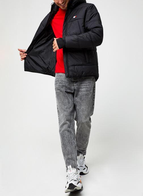 Vêtements Tommy Sport Insulation Jacket Noir vue bas / vue portée sac
