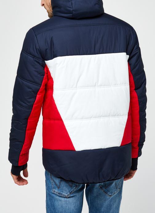 Vêtements Tommy Sport Insulation Jacket Rouge vue portées chaussures