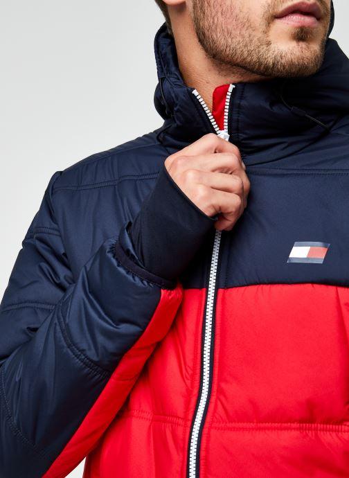 Vêtements Tommy Sport Insulation Jacket Rouge vue face