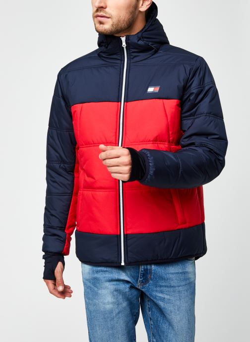Vêtements Tommy Sport Insulation Jacket Rouge vue droite