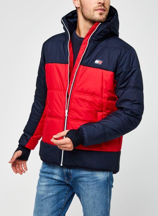 Vêtements Tommy Sport Insulation Jacket Rouge vue détail/paire