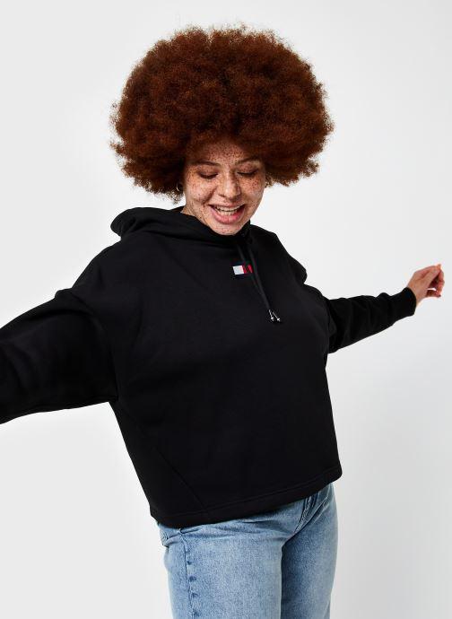 Sweatshirt hoodie - Cropped Hoody Flag Logo