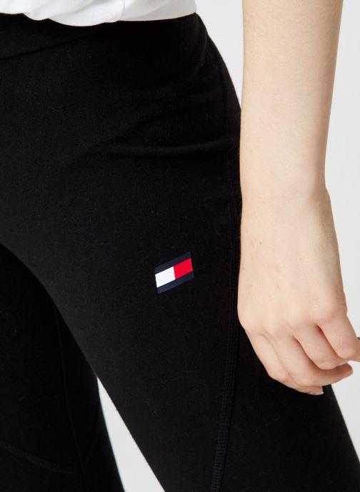 Vêtements Tommy Sport Co/El Legging Logo Noir vue face