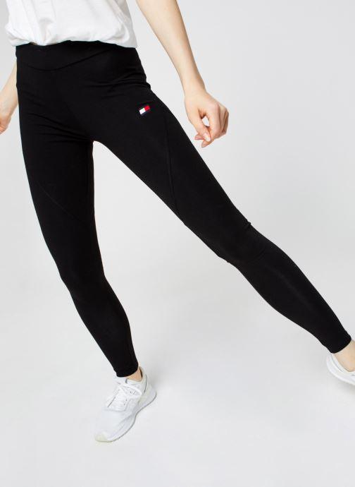 Vêtements Tommy Sport Co/El Legging Logo Noir vue détail/paire