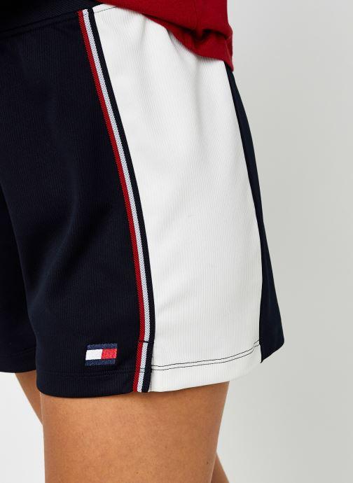 Vêtements Tommy Sport Highwaisted Short Bleu vue face