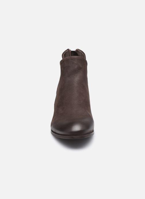 Bottines et boots H By Hudson Apisi Marron vue portées chaussures