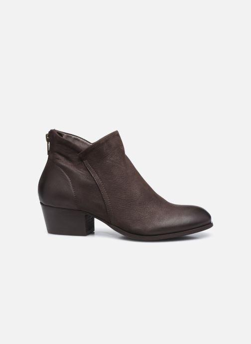 Bottines et boots H By Hudson Apisi Marron vue derrière