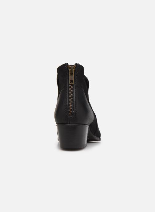 Bottines et boots H By Hudson Apisi Noir vue droite