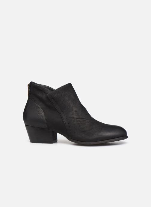 Bottines et boots H By Hudson Apisi Noir vue derrière