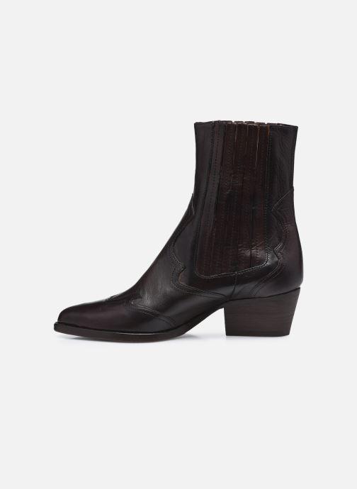Bottines et boots H By Hudson Sienna Marron vue face