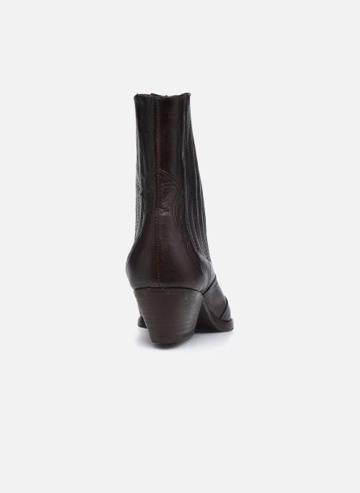 Bottines et boots H By Hudson Sienna Marron vue droite