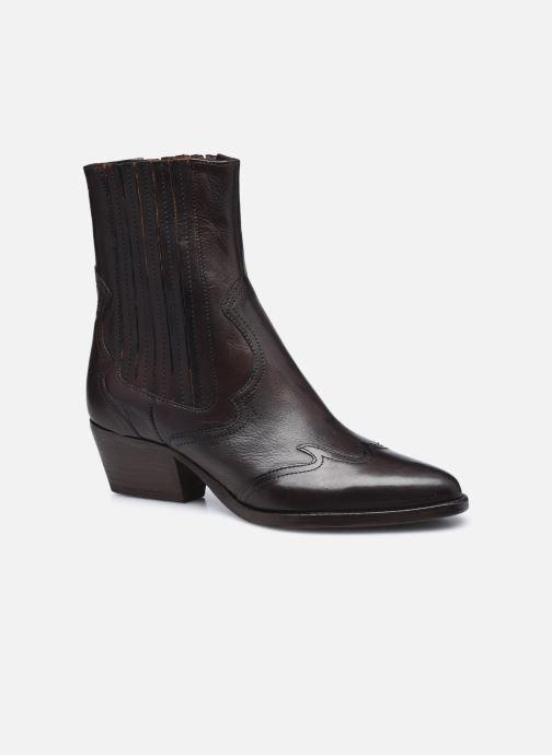 Bottines et boots H By Hudson Sienna Marron vue détail/paire