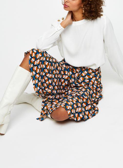 Vêtements Marie Sixtine Tamara Blanc vue bas / vue portée sac