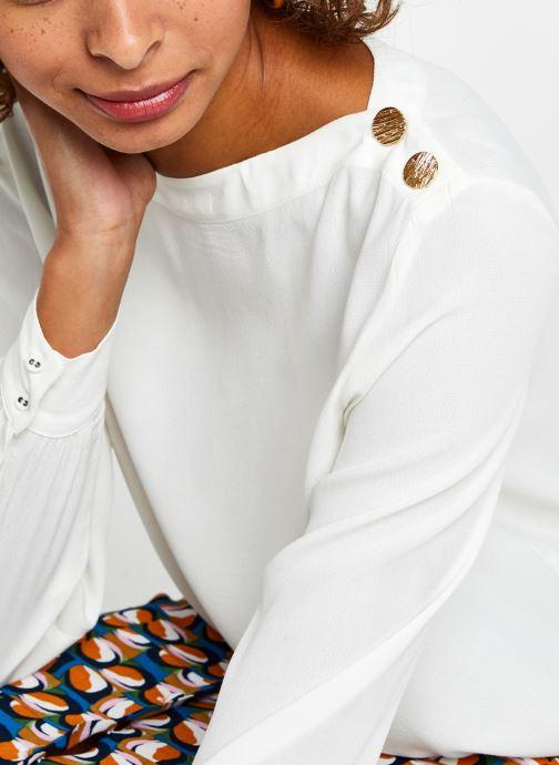 Vêtements Marie Sixtine Tamara Blanc vue face
