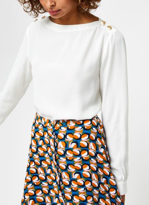 Vêtements Marie Sixtine Tamara Blanc vue détail/paire