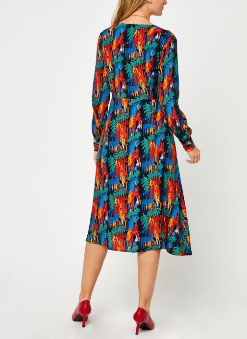 Vêtements Marie Sixtine Timea Multicolore vue portées chaussures