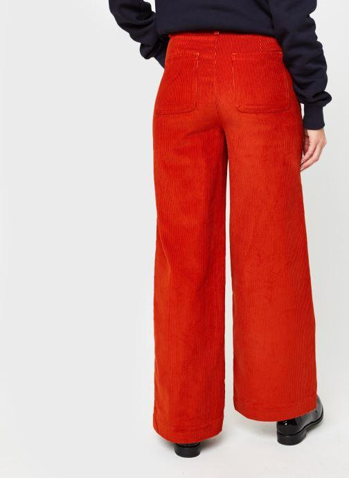 Vêtements Marie Sixtine Gregory Orange vue portées chaussures