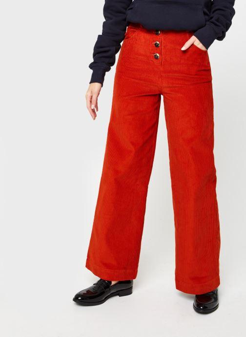 Vêtements Marie Sixtine Gregory Orange vue détail/paire