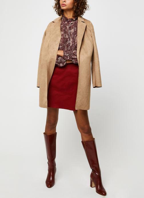 Vêtements Marie Sixtine Regina Rouge vue bas / vue portée sac
