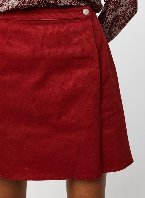 Vêtements Marie Sixtine Regina Rouge vue face