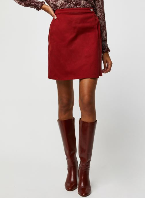 Vêtements Marie Sixtine Regina Rouge vue détail/paire