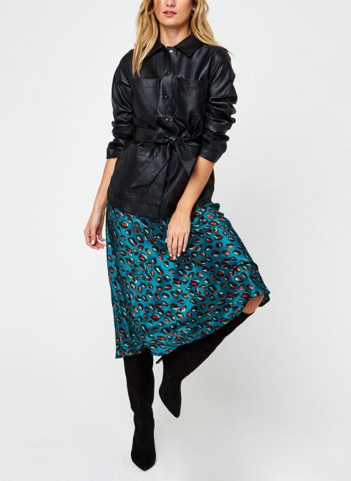 Vêtements Marie Sixtine Greta Vert vue bas / vue portée sac