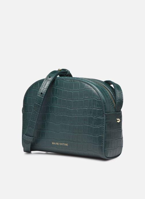 Handtaschen Marie Sixtine Saturne grün schuhe getragen