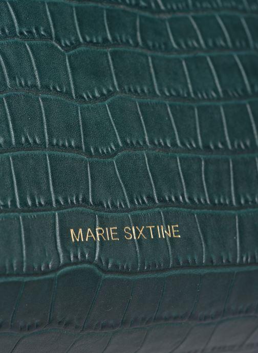 Handtaschen Marie Sixtine Saturne grün ansicht von links