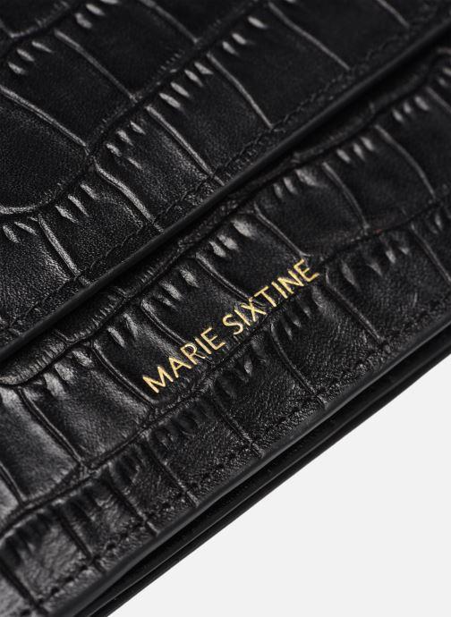 Petite Maroquinerie Marie Sixtine Oran Noir vue gauche