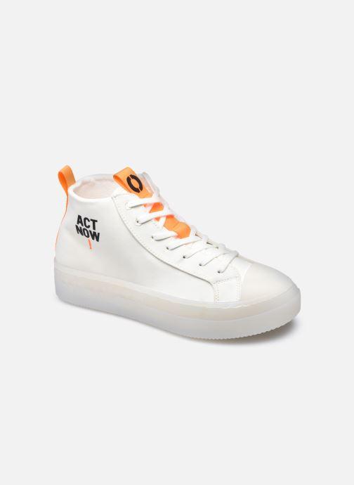 Baskets ECOALF Cool Sneakers Woman Blanc vue détail/paire