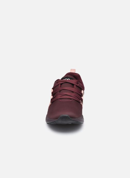 Baskets Ecoalf Nasumi Sneakers Woman Bordeaux vue portées chaussures
