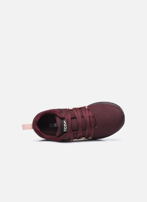 Baskets Ecoalf Nasumi Sneakers Woman Bordeaux vue gauche