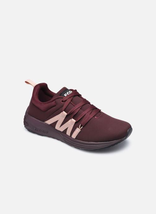 Baskets Ecoalf Nasumi Sneakers Woman Bordeaux vue détail/paire