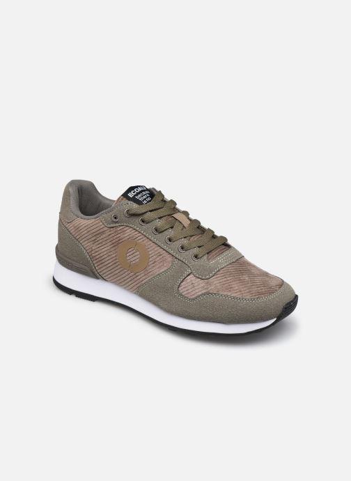 Deportivas ECOALF Pana Yale Sneakers Woman Marrón vista de detalle / par