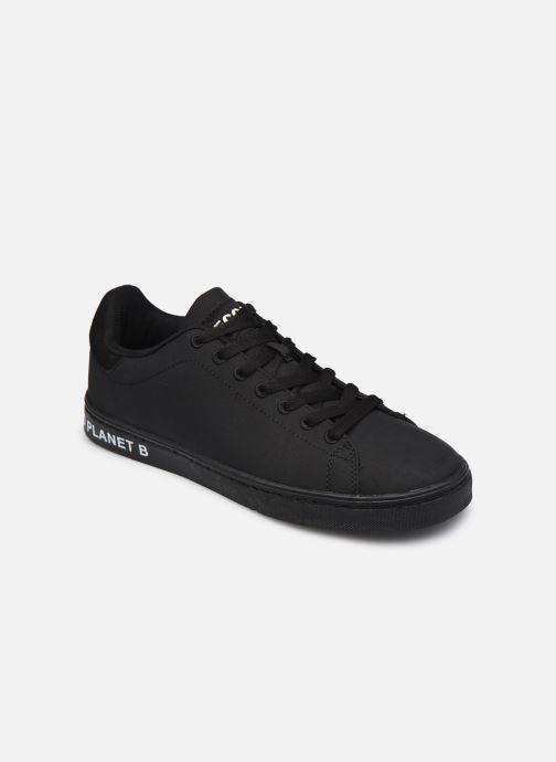 Sneakers ECOALF Snadford Basic Sneakers Woman Sort detaljeret billede af skoene