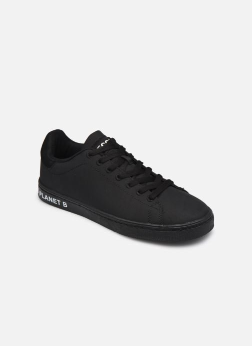 Baskets ECOALF Snadford Basic Sneakers Woman Noir vue détail/paire