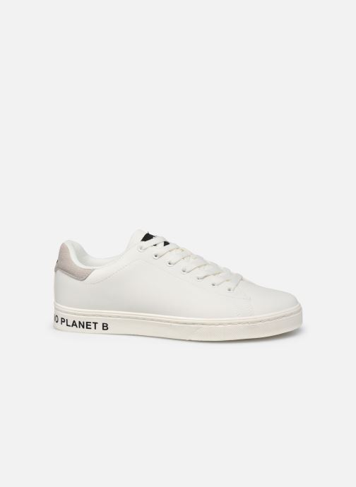 Baskets ECOALF Snadford Basic Sneakers Woman Blanc vue derrière