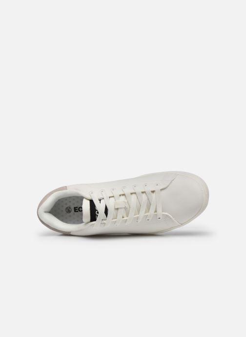 Baskets ECOALF Snadford Basic Sneakers Woman Blanc vue gauche
