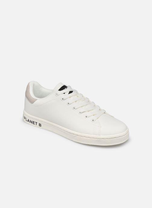 Baskets ECOALF Snadford Basic Sneakers Woman Blanc vue détail/paire
