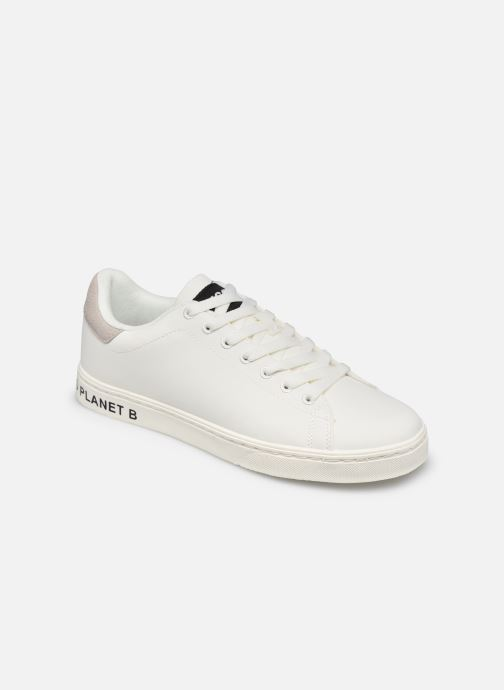 Sneakers ECOALF Snadford Basic Sneakers Woman Hvid detaljeret billede af skoene
