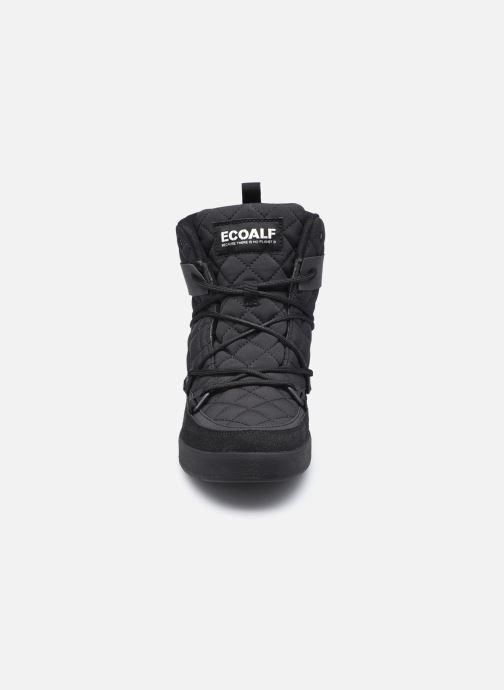 Sportschuhe ECOALF Snow Quilted Sneakers Woman schwarz schuhe getragen