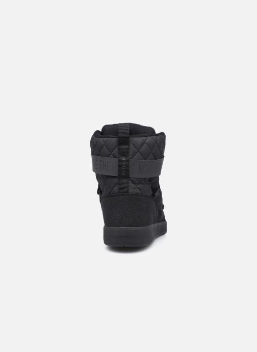 Sportschuhe ECOALF Snow Quilted Sneakers Woman schwarz ansicht von rechts