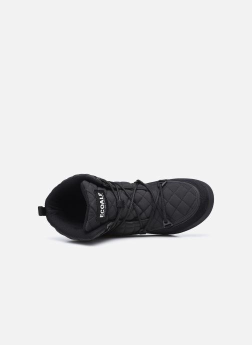 Sportschuhe ECOALF Snow Quilted Sneakers Woman schwarz ansicht von links
