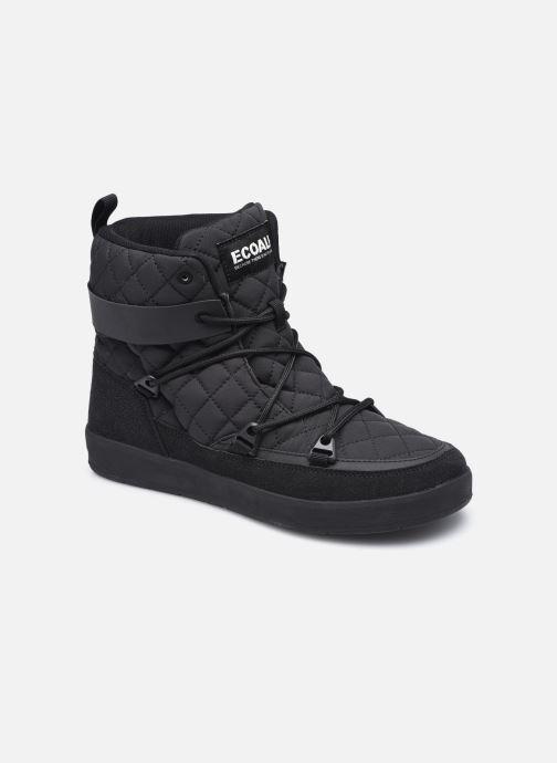 Sportschuhe ECOALF Snow Quilted Sneakers Woman schwarz detaillierte ansicht/modell