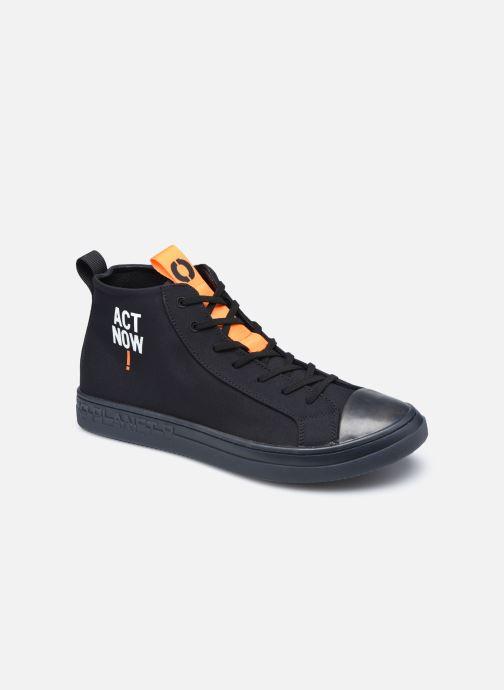 Deportivas ECOALF Cool Sneakers Man Negro vista de detalle / par