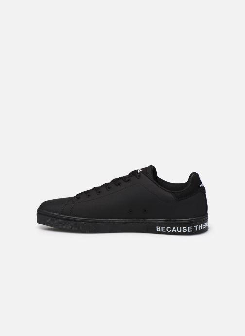 Baskets ECOALF Sandford Basic Sneakers Man Noir vue face