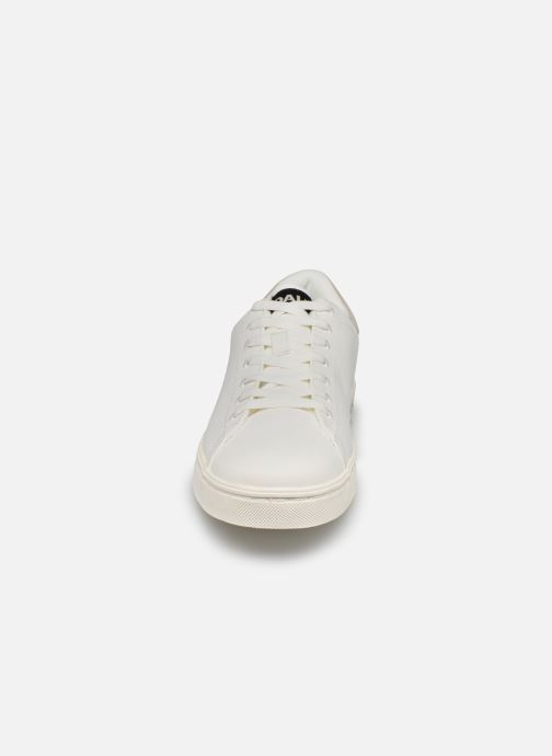 Baskets ECOALF Sandford Basic Sneakers Man Blanc vue portées chaussures