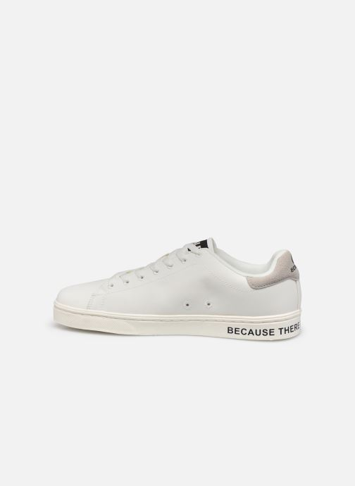 Baskets Ecoalf Sandford Basic Sneakers Man Blanc vue face