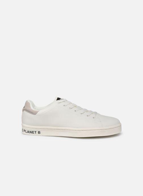 Deportivas ECOALF Sandford Basic Sneakers Man Blanco vistra trasera