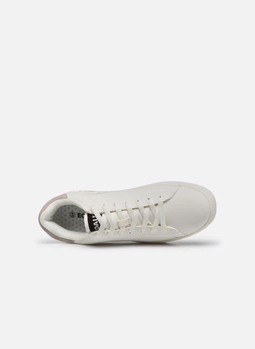Deportivas ECOALF Sandford Basic Sneakers Man Blanco vista lateral izquierda